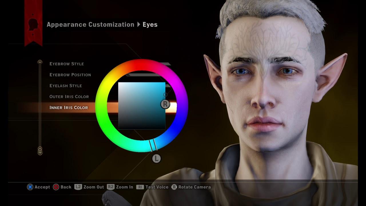 Dragon Age™: Inquisition Male Elf Slider