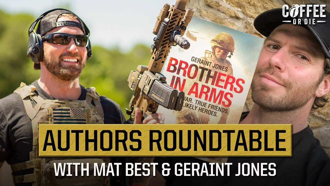 Bestselling Authors Mat Best and Geraint Jones On What It's Like to Publish A Book as a Veteran