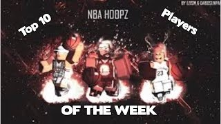 Roblox Nba Hoopz Phenom Top 10 joueurs de la semaine