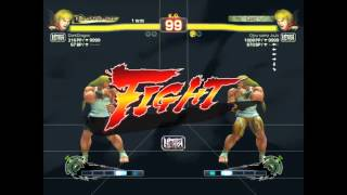 Ultra Street Fighter IV battle: Ken vs Ken