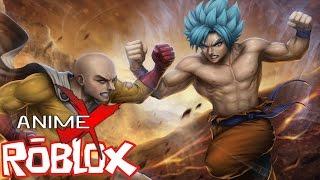 EL VERDADERO PODER DE SAITAMA!! || ROBLOX Anime Cross (Roblox Anime Crossover Game)