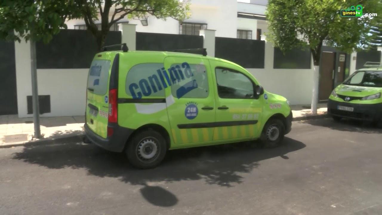 Mantenimiento y limpieza de imbornales en todo el municipio
