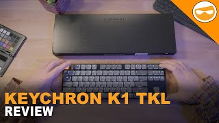 Keychron K1 Low Profile Mechanical Keyboard Review | 4K