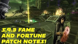5.9.3 Fame and Fortune  Patch Notes | SWTOR News