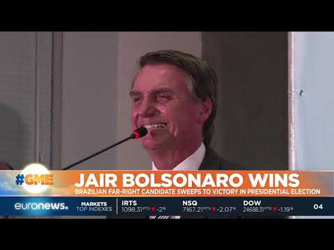 #GME | Far-right candidate Jair Bolsonaro won a decisive victory in Brazil's presidential elections.