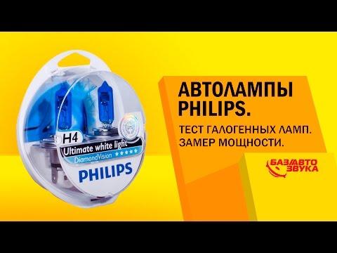 видео: Автолампы philips. Тест галогенных ламп. Замер яркости. Тест от avtozvuk.ua