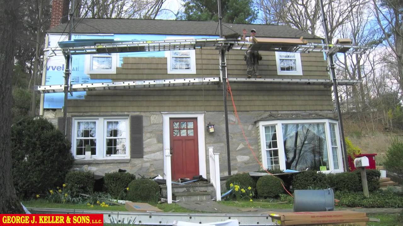 Vinyl Cedar Shake Siding Before And After 3 Of 3 Youtube