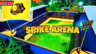 *NEW SPIKE ARENA* Port A Fortress Fortnite Update  Funny Fails & WTF Moments 2018