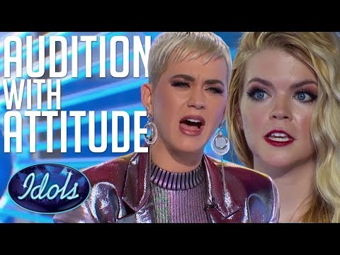 AUDITION With ATTITUDE! Can Koby Sing?! Katy Perry Tells Her How It Is... American Idol 2018 Mp3