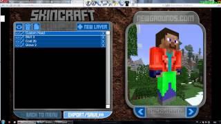 Как создать свой скин в minecraft (на пиратку)