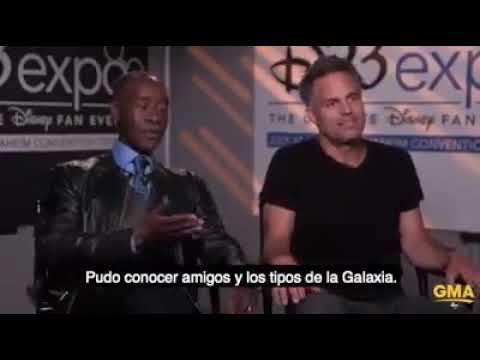 Mark Ruffalo (Hulk) hace spoiler sobre Infinity War sub español