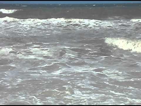 Llanfairfechan rough sea