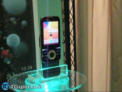 Sony Ericsson Yari in game