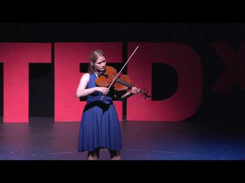 A cello suite transcribed for viola | Caeli Smith | TEDxPenn