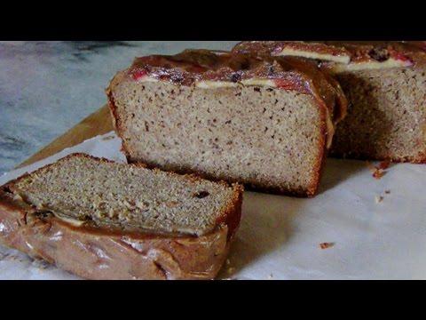 Apple Peanut Butter Banana Gluten Free Loaf Cake