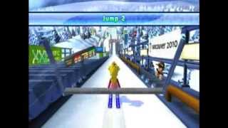 Mario & Sonic At The Olympic Winter Games ~ Ski Jumping