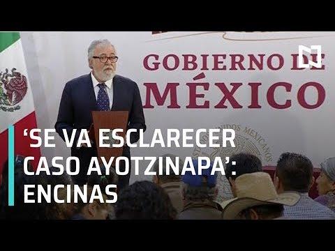 Alejandro Encinas: Se retomará investigación de la PGR sobre caso Ayotzinapa - Transición 2018