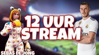 12 UUR LIVESTREAM! | TOTS PACKOPENING | FORTNITE | GIVEAWAYS EN VASTEN!!