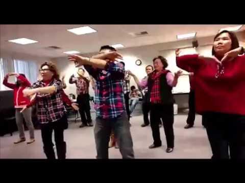Hip hip hura Hura Flash Mob dari LA California ikut mendukung Pak ahok.
