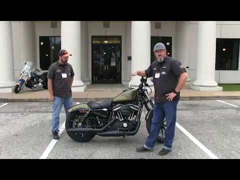 new 2017 harley davidson iron 883 for sale in florida 2018 - youtube