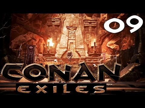 🔥 Conan Exiles [#9] ATAK NA OGROMNĄ WIOSKĘ YOGA!