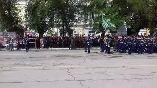 Военный парад 9 МАЯ 2018 год г. Феодосия