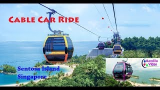 Cable Car Ride - Sentosa Island (Singapore)