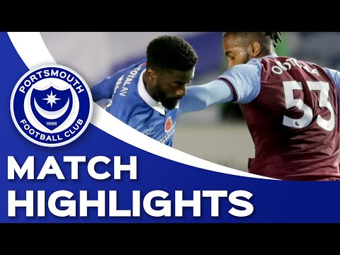 Portsmouth West Ham U-21 Match Highlights