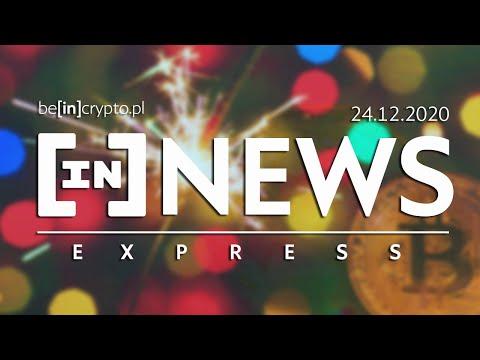 XRP usuwane z giełd, BTC i złoto, Nowi miliarderzy - [in]NEWS Express - 24.12.2020