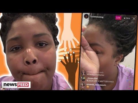 Lizzo BREAKS DOWN In Tears Over Racism