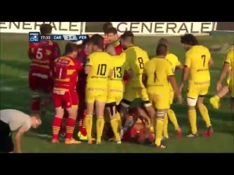 Rugby : compil bagarre USAP !!!!