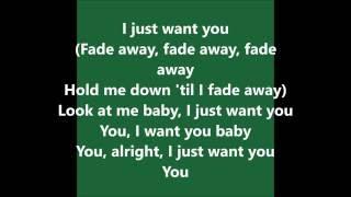 Miguel - Simple Things (Remix) lyrics - feat Chris Brown & Future