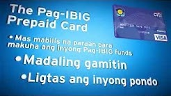 Pag-IBIG CITI Prepaid card