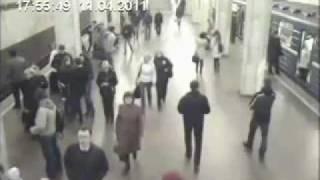"""Взрыв на """"Октябрьской"""" минского метро с разных камер"""
