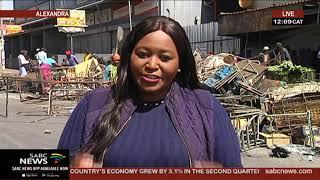 Gauteng Premier Makhura has appealed for calm