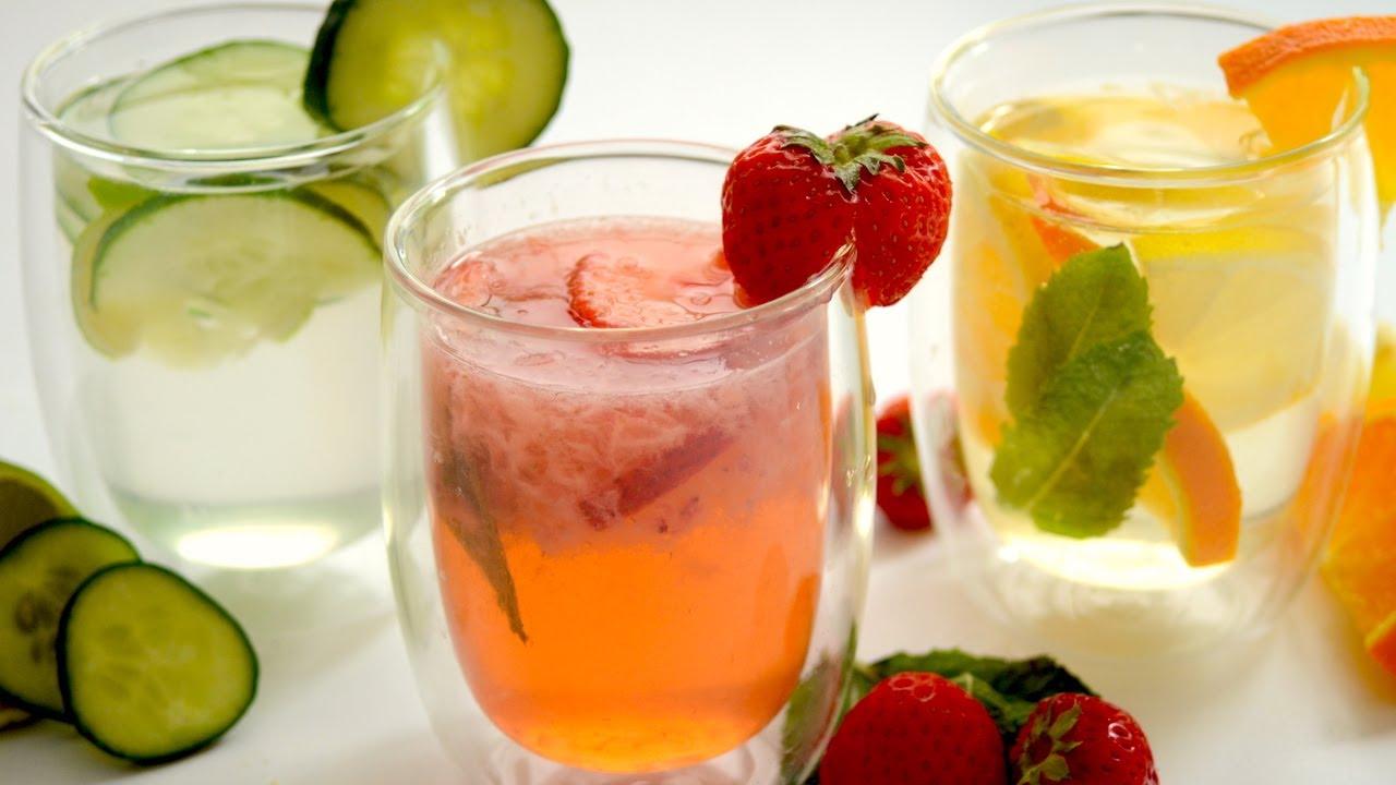Erfrischende Getränke für den Sommer - Erdbeer Limonade, Orange ...