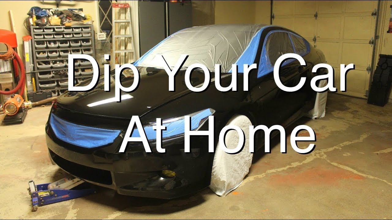 How to dip your car at home part 1 youtube solutioingenieria Image collections