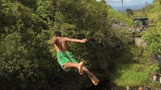 Hana Cliff Diving - Maui Barefoot Ninjas