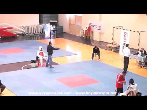 74kg Berk Duz vs Burakhan Aydemir (2013 Ümitler TKD Milli Takım Seçmesi)