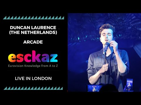 ESCKAZ in London: Duncan Laurence - The Netherlands - Arcade (at London Eurovision Party 2019)