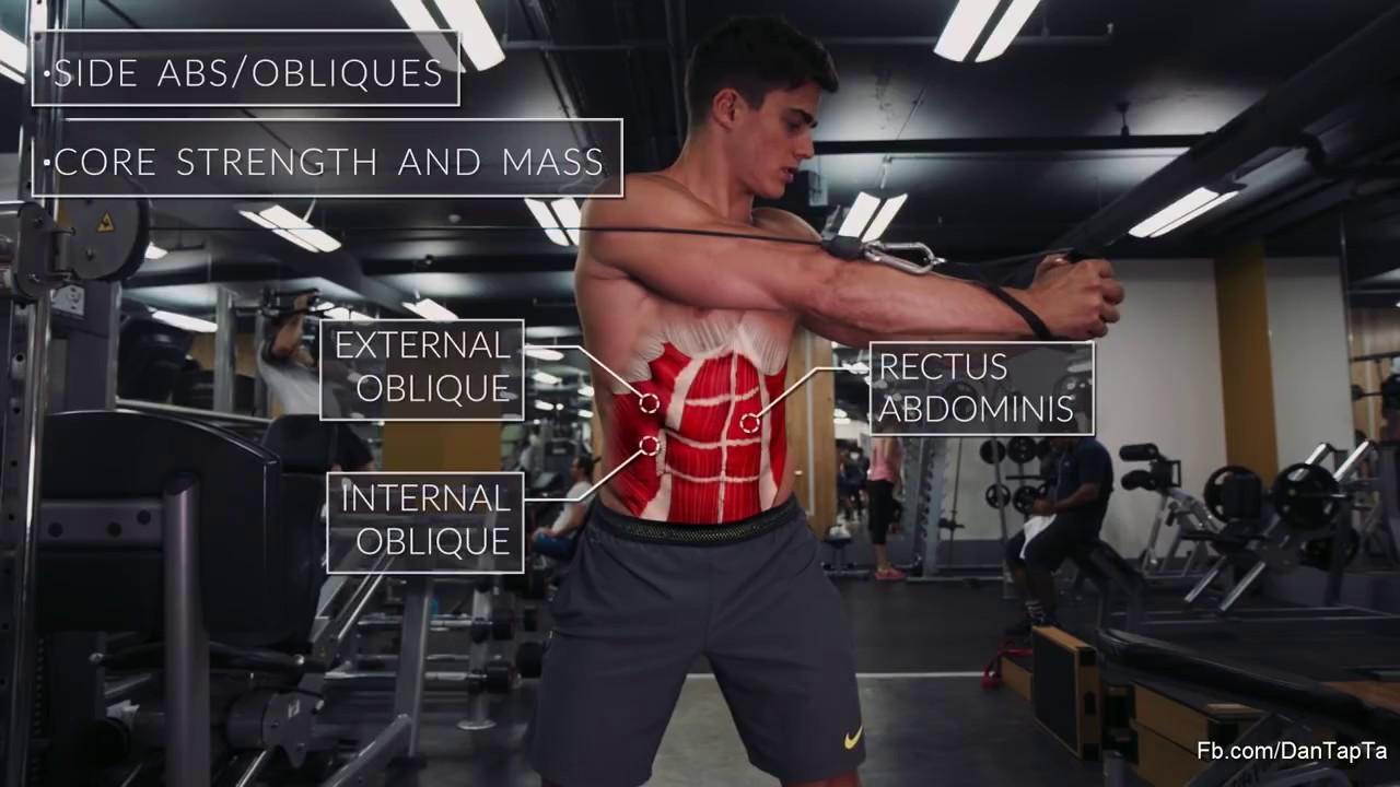 Cách tập cơ bụng tại phòng gym [dinhduonghoc.com]