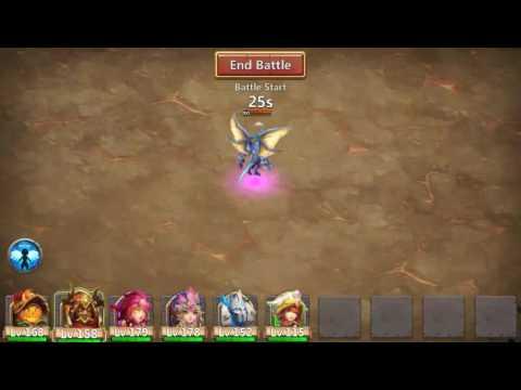 Castle Clash Archdemon (slowdown Strategy)