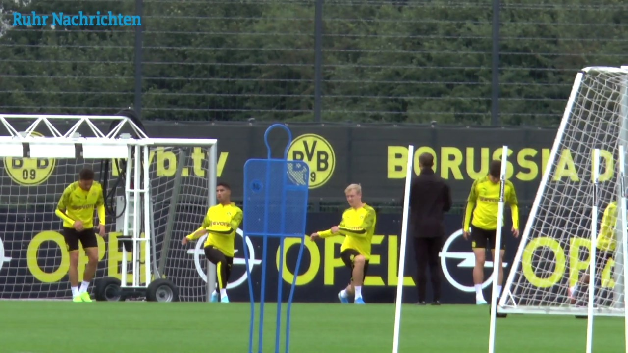 Intensives Training der BVB-Reservisten in Brackel
