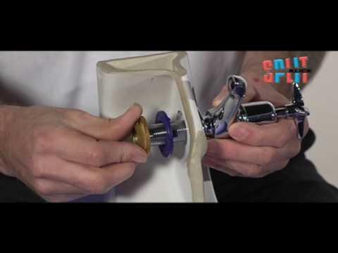 Split Klick Centralising Washer - SK2 - YouTube