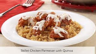 Skillet Chicken Parmesan With Quinoa