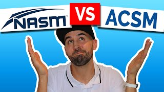 nasm or acsm which personal training certification is better