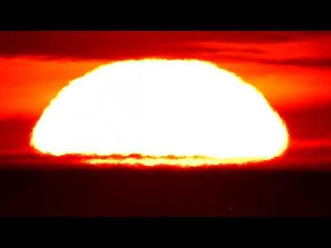 Flat Sun Setting Over Flat Earth thumbnail