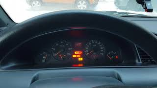 Peugeot 806 2.0 HDi Cold Start -18C