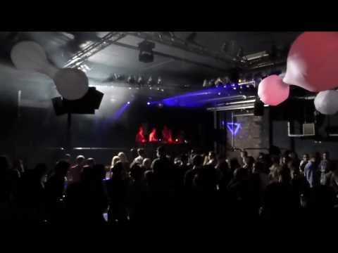 Electronic Lounge Party Forum Bielefeld Led Visuals Performance Dekoration by Voptix magiceye.eu