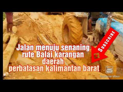 Jalan Daerah Perbatasan Kalimantan Barat